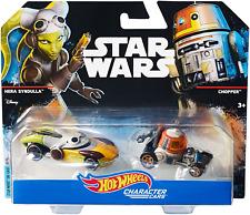 Star Wars Hot Wheels Rebels Hera Syndulla & Chopper 2 Pack (Very Rare)!