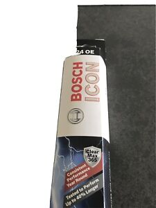 """Bosch ICON 24OE Framed Wiper Blade 24"""" length Passenger or Driver Side Front VW"""