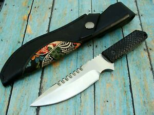51707 HEAVY SAWBACK TACTICAL COMBAT FIXED BLADE FIGHTING BOWIE KNIFE SET KNIVES