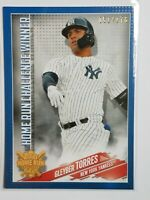 2019 Topps Home Run Challenge Winner August Gleyber Torres Yankees /176