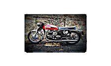 1965 norton atlas Bike Motorcycle A4 Photo Poster