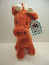"Little Jellycat 10"" Chums The Giraffe Plush w Chime Orange Baby Toy Lovey"