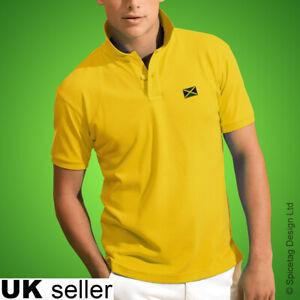 Jamaica Polo Shirt Football World Cup Tshirt Flag Soccer Top Kit 2019 Jamaican