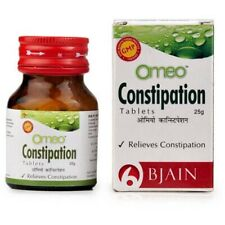 2 X Homeopathic B Jain Omeo Constipation Tablets (25g) Free Shipping