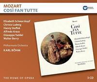 Karl Boehm - Mozart: Cosi Fan Tutte (NEW 3CD)