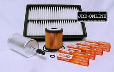 MAZDA 3 BK 2.0 2.3 2.5 Petrol OIL AIR FUEL Filter + spark plugs kit 2004-2009