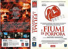 I FIUMI DI PORPORA (2000)  vhs ex noleggio