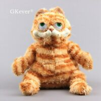 Cartoon Garfield Plush Toy Fat Cat Soft Stuffed Animal Teddy Pillow Doll 10''