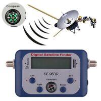 Digitaler Satellitensucher Signal Meter Tester HDTV HD Kompass Satellitensucher