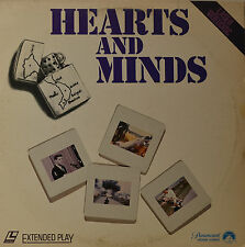 "Hearts And Minds - Peter Davis - Laserdisc 12"" Ld (O98)"