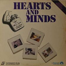 "HEARTS Y MINDS - PETER DAVIS - LASERDISC 12"" LD (O98)"