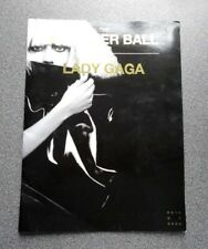 Lady Gaga Monster Ball Tour Programme Program 2009/10 with 2 Tickets