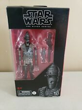 Star Wars IG-11 Mandalorian The Black Series 6-inch Figure DAMAGED & OPEN BOX
