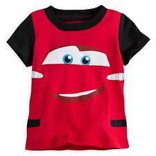 Disney Store Lightning McQueen Cars Baby Toddler Tee T-shirt 18-24m 100% Cotton