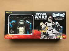 STAR WARS BUST-UPS ATTACK OF THE CLONES ARMY BUILDER 4 CLONE TROOPER BOX SET NIB