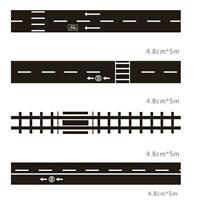 Kids Creative Toys Railway Road Tape Floor Sticker Removable DIY Indoor K1Y0