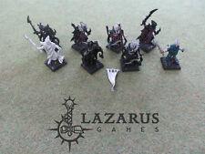 Warhammer Fantasy Dark Elf AoS Order Scourge Privateers - 8 Black Corsairs (oop)