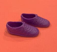 Vintage Mattel Barbie Purple Tennis Shoes Sneakers Thailand