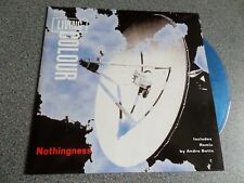 """LIVING COLOUR ~ Nothingness UK 7"""" clear blue vinyl disc in picture sleeve 1993"""