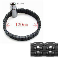 Car Truck Oil Fuel Filter Removal&Tighten&Install Tool Chain Strap Type Steel