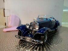 Franklin Mint 1935 Mercedes 500K.1:24.Mint In Box.Rare Color.Undisplayed