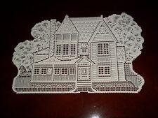 LACE PLACEMAT WHITE HOUSE DESIGN 20 X 13 WTRH421
