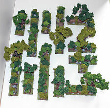 World War 2 Mandertory Miniatures resin 28mm Bocage terrain set 1, Bolt Action