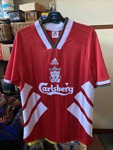 Liverpool Retro Home Shirt 1993-1995 BNWT Size Large