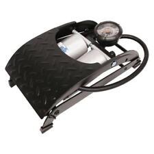 Doble Cilindro Neumático neumático Pie Bomba + Inflador - 100 Psi / 7 Bar Coche Bicicleta van