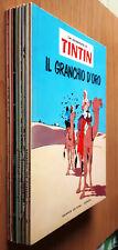 LE AVVENTURE DI TINTIN completa 1/8 - ed. Gandus 1967- edicola