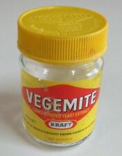 Vegemite - Small Jar with Labels and Yellow Branded Lid - 235 Gram Net - 2005