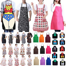 Unisex Adults Apron for Chefs Butcher BBQ Kitchen Cooking Craft Baking Catering