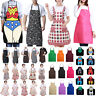 Unisex Ladies Kitchen Apron Dress Waterproof Chef BBQ Cooking Baking Restaurant