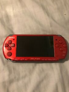 Sony PSP-3000 Radiant Red Console