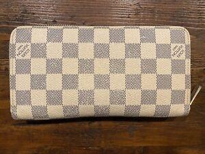 louis-vuitton zippy wallet damier azur
