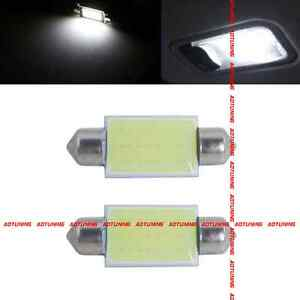 2 AMPOULE NAVETTE C5W 31mm couleur blanc xenon - plafonnier boite à gant coffre
