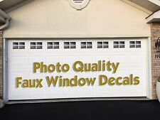 Garage Door Faux Window Vinyl Decal Kit