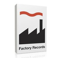 Factory Records Framed Canvas Print