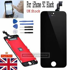 For Apple iPhone 5C LCD Touch Screen Display Digitizer Full Replacement Black UK