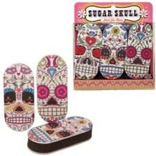 Streamline Sugar Skull Emory Board Set of 3  FREE US SHIPPING