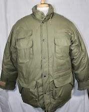 POLO RALPH LAUREN MENS OLIVE GREEN MILITARY STYLE COMBAT FIELD DOWN JACKET