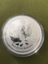 2017 1 oz Silver Rooster Lion Privy Perth Mint (Limited Mintage Of Only 30000