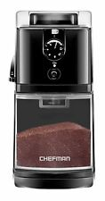 Electric Burr Coffee Grinder 17 Grinding Options 8 oz Capacity Chefman Refurbish