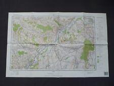 Landkarte Polen, Meßtischblatt 174.43 Biecz, Wojiwodschaft Krosnienskie, 1995