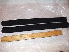 1 PR ALL NEW COTTON RIBBED 14 INCH BLACK SOCKS FOR 16 TO 26 INCH DOLLS