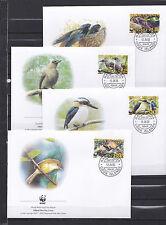 Cook Islands 2005 - FDC - Vogels/Birds/Vögel  WWF/WNF