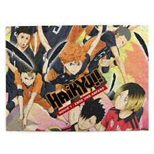 300/500/1000 Pcs Haikyuu Wooden Colorful Jigsaw Educational Puzzle Game Kid Gift