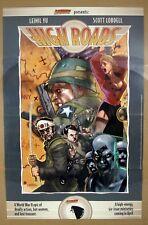 "Cliffhanger Leinil Yu Scott Lobdell WWII Epic HIGH ROADS Promo Poster 22x34"" VG"