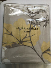 Laura Ashley Mill Wood Yellow Camomile Ready Made Lined Curtains W64 L54 Inches