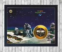 YES TALES FROM TOPOGRAPHI CUADRO CON GOLD O PLATINUM CD EDICION LIMITADA. FRAMED